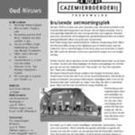 Oud Nieuws, nr. 46, maart 2018, jaargang 24