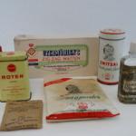 Verzameling lichaamsverzorgingsproducten