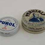 Zalfdoosjes (2X), Peruzalf en Purol