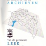 Archieven van de gemeente Leek, deel 2