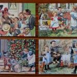 Schoolplaat - Verzameling van Jetses, 14 stuks