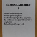 Schoolarchief - Doos 2