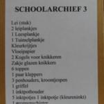 Schoolarchief - Doos 3