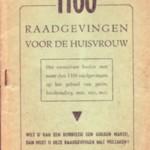 1100 Raadgevingen voor de huisvrouw